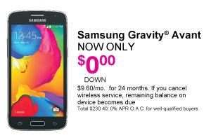 Samsung Gravity Avant